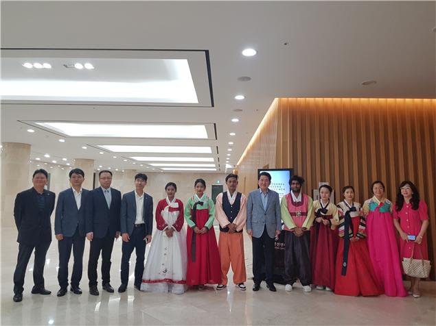 2019년 제주한라대학교 외국인 유학생을 위한 한가위 한마당 페스티벌 개최2