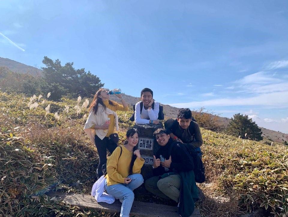 2019년 제주한라 글로벌 멘토-멘티 단합회 한라산 등반3