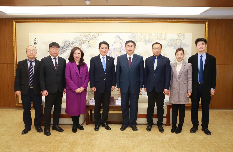 중국 남개대학교 경제학원 간 교육·협력 프로그램 협약 체결2