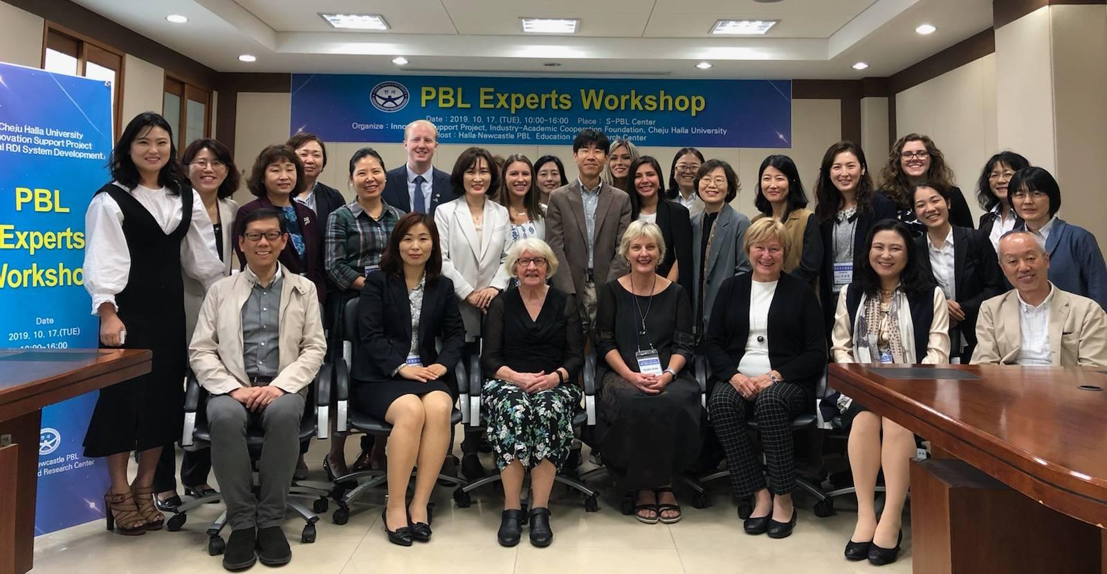 제주한라대학교 한라·뉴캐슬 PBL 교육연구원, PBL 국제학술심포지엄 개최2